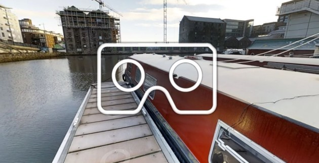 Virtual Tour of a 50ft Barge in Dublin Grand Canal Basin